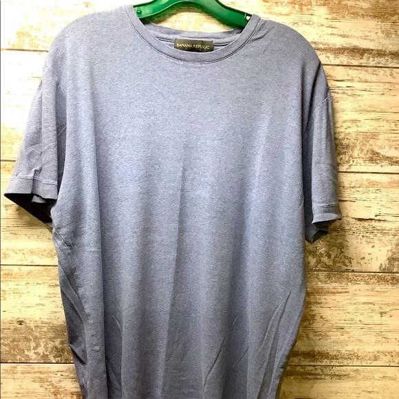 Banana Republic - Crew Neck S/S Shirt - Mens Sz XL